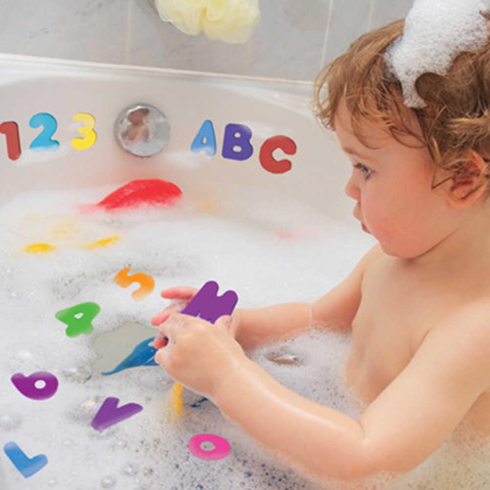 ใหม่ 36 pcs เด็ก Bath Tub Foam ตัวอักษรตัวเลขเด็กการศึกษา Early เรียนรู้ Water Shower ชุดของเล่นเด็กของเล่นเด็กของเล่น