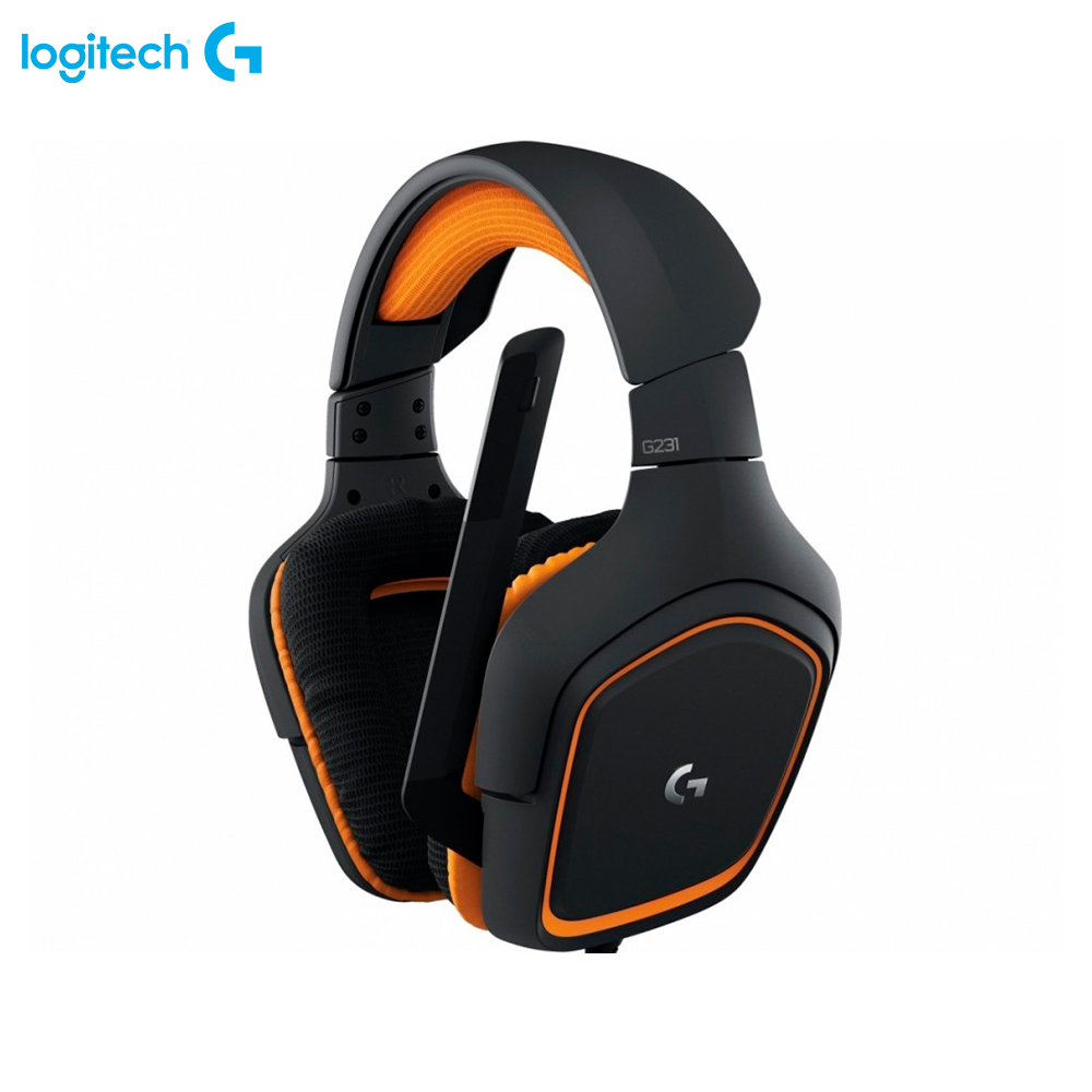 Фото - Earphones & Headphones Logitech G231 Prodigy 981-000627 computer wired wireless headset gaming somic g949de virtual 7 1 gaming headset with microphone for computer usb headphones with double speaker units