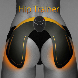 Image 2 - Ems Muscle abs Stimulator Abdominal Hip Trainer electric vibrate massager Weight Loss relaxation Body Slimming Belt Unisex