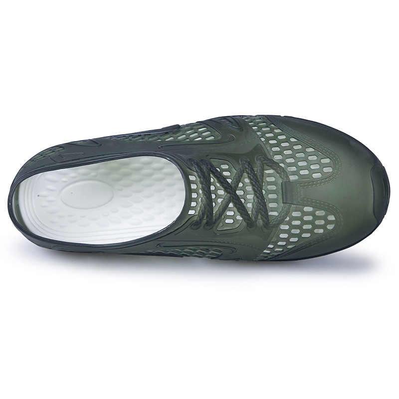 TULUO Zomer Water Schoenen Mannen Lichtgewicht Ademend Barefoot Strand Zwemmen Sneldrogend Antislip Outdoor Lopen Mannelijke Sneakers