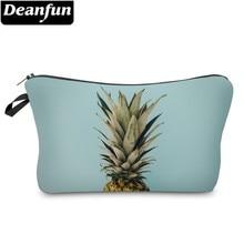 Купить с кэшбэком Deanfun Waterproof Cosmetic Bags 3D Printing Pineapple Roomy Makeup Bag Organizer Xmas GIft Bags Dropshipping 51358