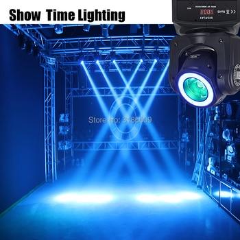 Hot Sale DJ Spot LED Beam Moving Head dengan Strip Disco Light RGBW 4 In 1 60 W Balok dan cuci Efek Moivng Kepala untuk KTV DJ Pesta