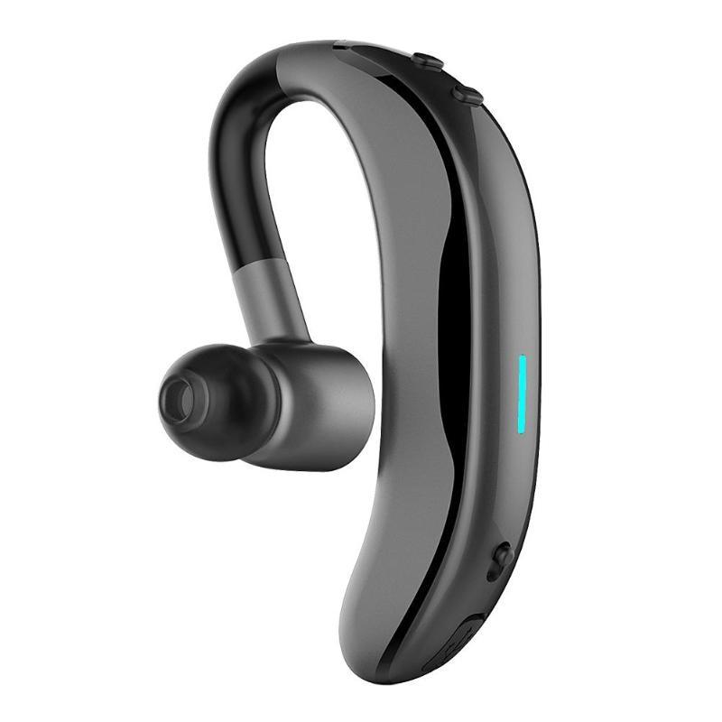 New Single Wireless Bluetooth In-Ear Earphone Hands-Free Driving Earhook Earphones for All Bluetooth Devices