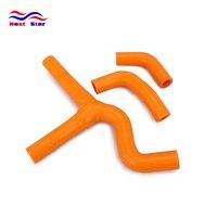 Motorcycle Orange Radiator Hoses Set For KTM SX450 EXC450 MXC450 SX525 EXC525 MXC450 SX EXC MXC 2003 2006 2003 2004 2005 2006