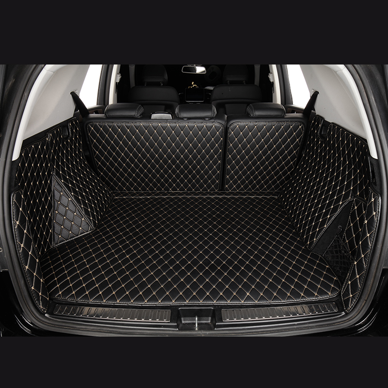 Car Trunk Mats For Audi A4 Allroad 8KH B9 Q3 8UB 8UG Q5 8R FYB Q7 4LB 4MB Q8 TT FV3 FV9 Car Accessories Custom Cargo Liner