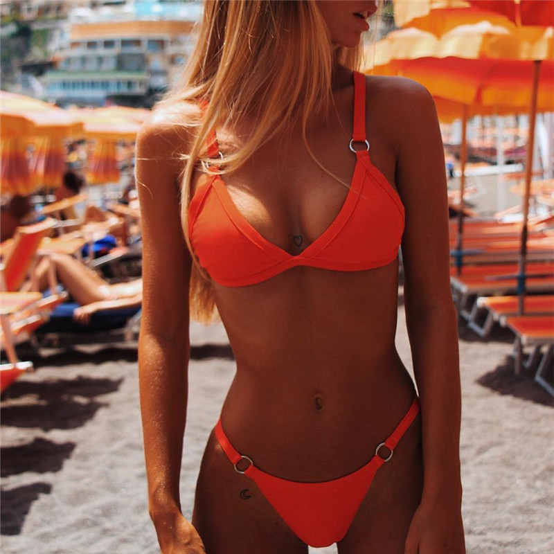 Micro Bikini 2019 Swimwear Women Bikini Colaless Swimsuit Sexy Thong Bikinis Set Bathing Suit Beachwear Mini Bikini Femme