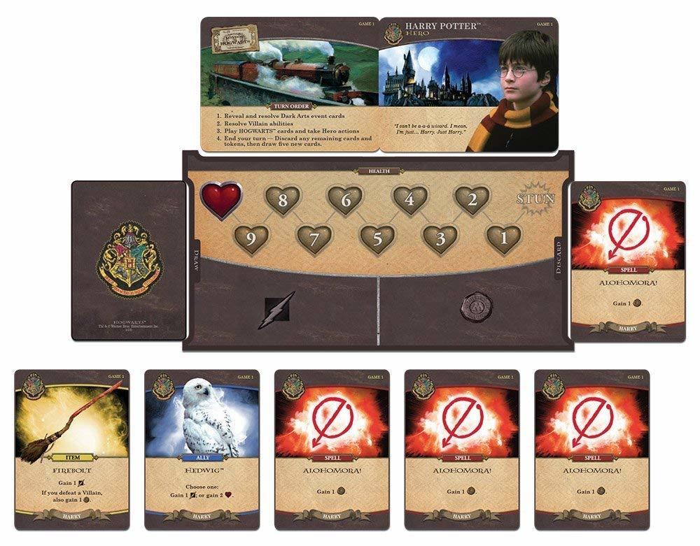 Harry Potter Poudlard Bataille Coopérative De Construction Pont Carte Jeu | Officiel Harry Potter les Marchandises Sous Licence - 4
