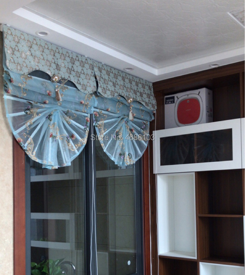 Us 78 0 2019 New Coming Ins European Curtain Fan Shaped Window Blinds And Shades Roman Blinds Curtain Blinds Curtains For The Kitchen In Blinds