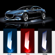 2Pcs  Car/Motorcycle LED Decorative Light Welcome Emergency Signal Wings Lamp Projector Shadow Lighting Fog Warning