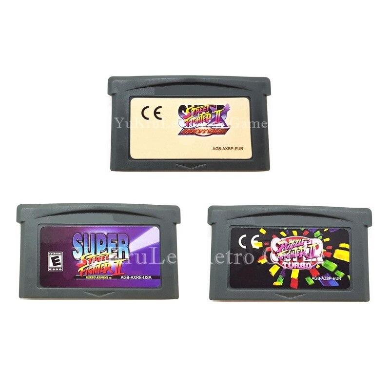 Speicherkarten Praktisch Video Spiel Patrone Karte Super Street Fighter Serie Für 32 Bit Spielkonsole Uns/eu Allgemeine Version Englisch Sprache