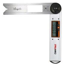 GemRed Digital Angle Gauge Goniometer Leveling Instrument Stainless Steel Finder Clinometer Display Protractor
