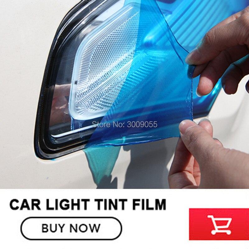 Car Headlight Tint Film Cover Wrap Chameleon Headlight Taillight Fog Brake Light Film 30cm*9mCar Headlight Tint Film Cover Wrap Chameleon Headlight Taillight Fog Brake Light Film 30cm*9m