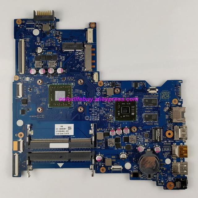 حقيقي 854964 601 854964 001 واط R5M1 30/2 جيجابايت الرسومات ث A8 7410 وحدة المعالجة المركزية لوحة رئيسية لأجهزة HP الكمبيوتر المحمول Envy 15 15 BA سلسلة الكمبيوتر المحمول