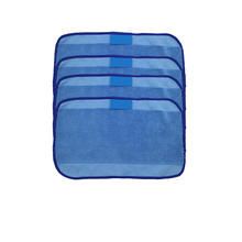 цены 4pcs/Lot High quality Microfiber wet Mopping Cloths for iRobot Braava 321 380 320 380t mint 5200C 5200 4200 4205 Robot