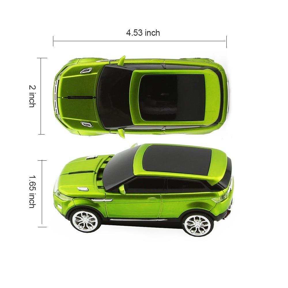 CHYI Ratón inalámbrico Moda Coche deportivo SUV Ratones en forma - Periféricos de la computadora - foto 2