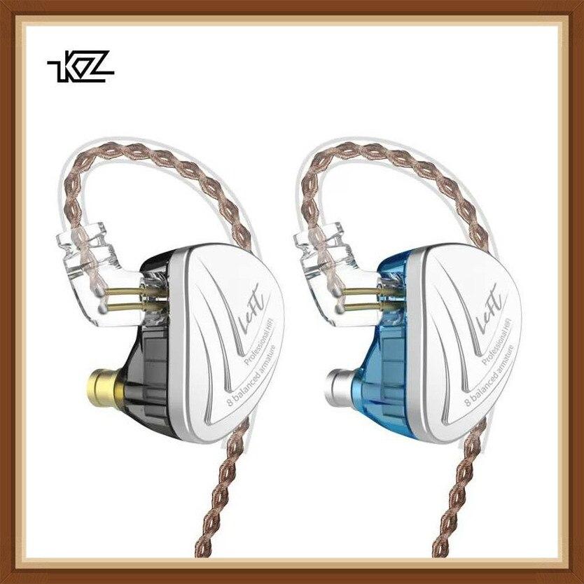 KZ AS16 16BA dans l'oreille écouteur équilibré Armature casque haute qualité sonore moniteur HiFi écouteurs AS10 C16 BA10 CTZ AS06 ZS10 ZST