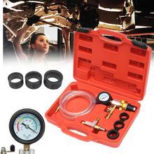 Autoleader Vuoto Sistema di Raffreddamento Auto Auto Radiatore del liquido di raffreddamento di Ricarica & Spurgo Tool Kit Gauge Con La Pompa di Aria di Lavaggio Auto Facile collegare