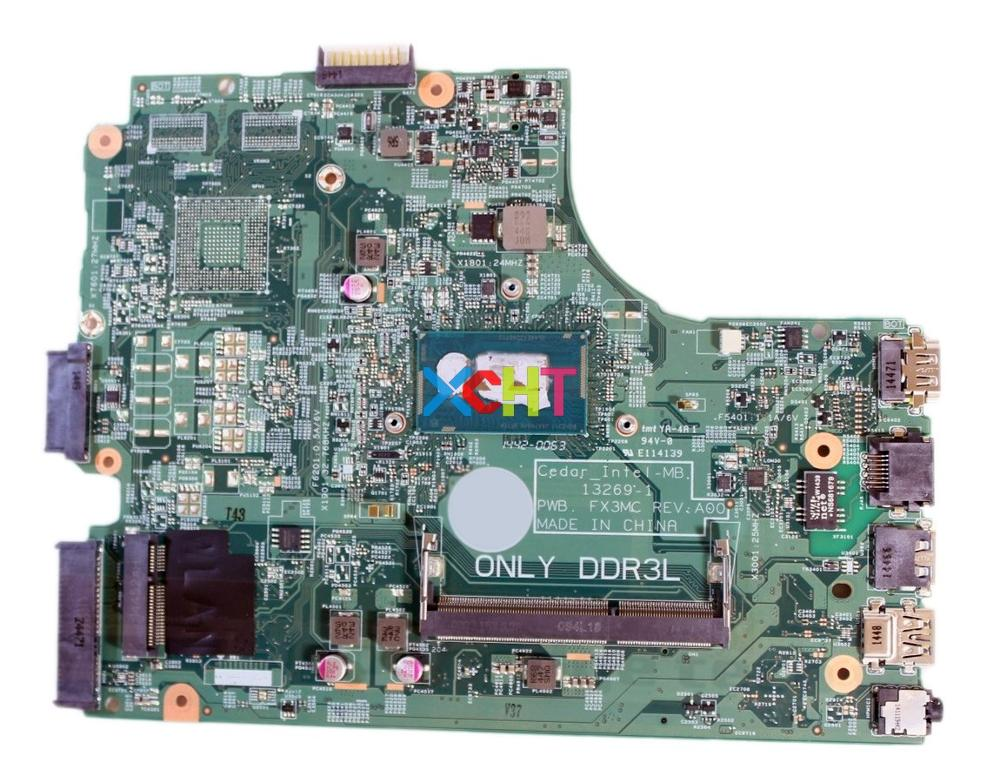 CN-0GJC23 0GJC23 GJC23 PWB.FX3MC w SR1EK I3-4005U CPU DDR3L for Dell Inspiron 3542 PC Laptop Motherboard Mainboard Tested