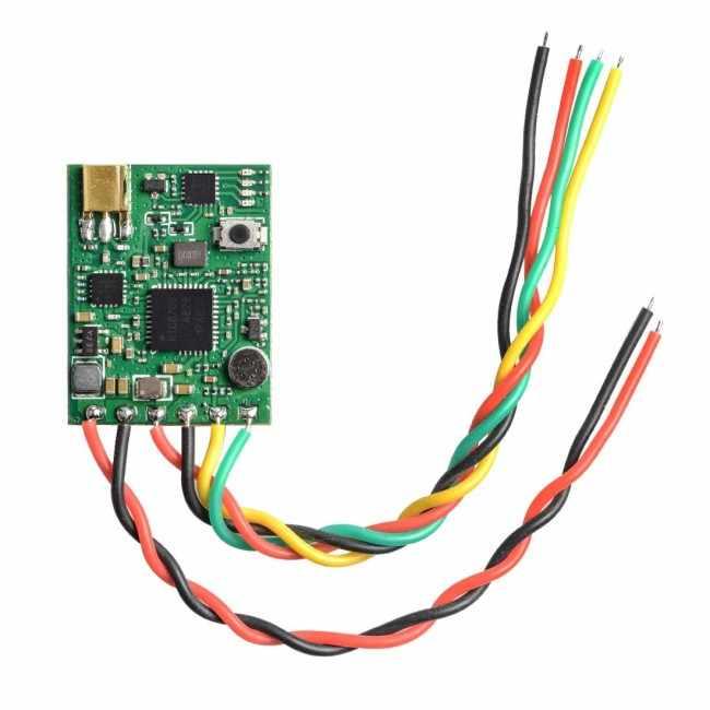 AKK carrera VTX 25 mW/200 mW cambió 5,8 Ghz 40CH Smart Audio transmisor FPV Raceband apoyo pozo modo para modelos RC repuestos