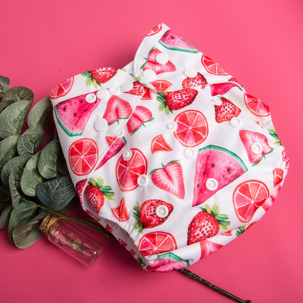 20pcs ALVA Baby Cloth Diapers with 20pcs Microfiber Inserts Pocket Diaper Lot