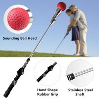 Random Color Large Practical Golf Training Aids Swing Trainer Beginner Gesture Alignment Correction Aid Golf Accessories