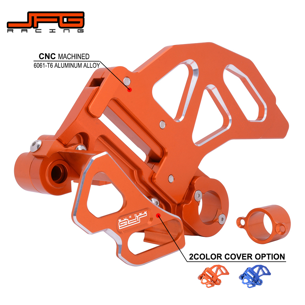 Motorcycle CNC Aluminum Rear Brake Disc Guard Hub Spacer Caliper Guard For KTM SX XC XCF XCW XCFW EXC 125 150 250 350 450 530