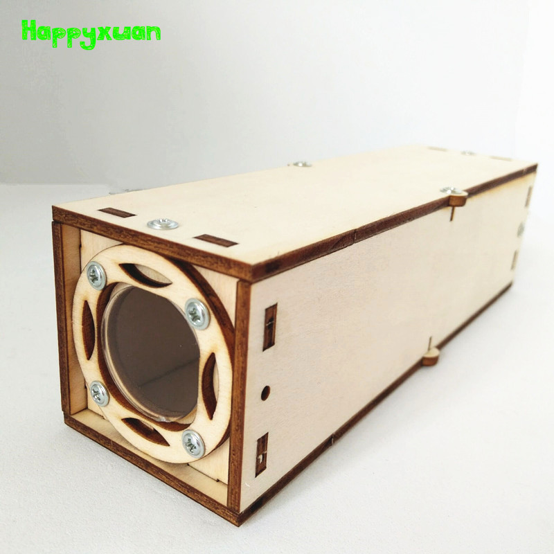 Happyxuan Kids Scientific Toys DIY Periscope Telescope Physics Optics Experiments Sets STEM Education Kit Creative Learning