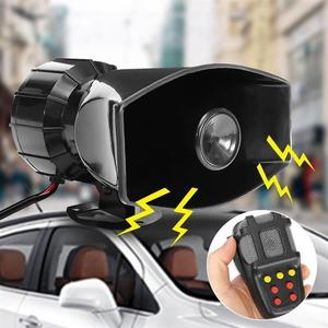 Image 4 - 12V 100W 7 Màu Xe Ghi Âm Khẩn Cấp Còi Báo Động Khẩn Cấp Bộ Khuếch Đại Hooter Xe Còi Hú Còi Mic PA Hệ Thống Loa cho Xe SUV