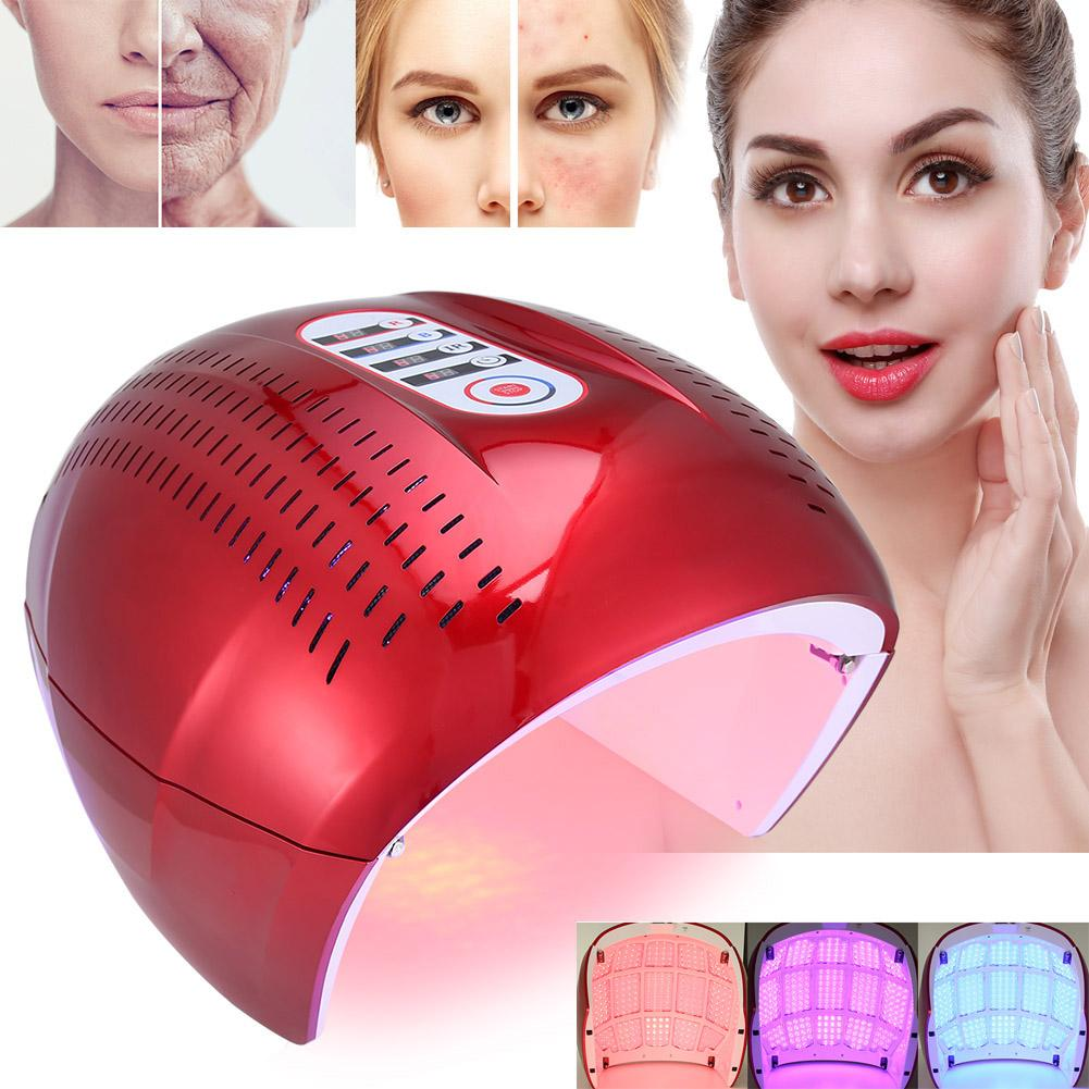 Skin Care 4 Color Pdt Acne Removal Machine Face Led Light Therapy Skin Rejuvenation Face Care Eu Us Uk Plug Ec Skin Care Tool