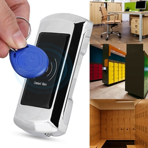 Image 5 - EM108 אבץ סגסוגת חכם אלקטרוני קבינט מנעול עם גישה כרטיס עבור סאונה/שחייה/מלון הלבשה