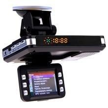 3 In 1 Macchina Fotografica Dell'automobile Dvr Gps Rilevatore Radar di Avvertimento Video Recorder Registrazione del Ciclo del Precipitare Della Macchina Fotografica del Registratore di Guida