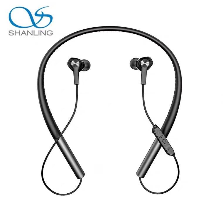 f89f463e1 Cheap Shanling MW100 Bluetooth inalámbrico en la oreja auricular banda para  el cuello deporte Auriculares con