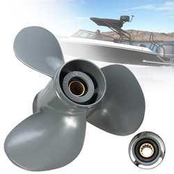Boot Propeller 58130-ZV5-012AH 11 1/8x13 Voor Honda Buitenboordmotor 35-60HP 13 Spline Tooths 3 Blades Grijs Aluminium