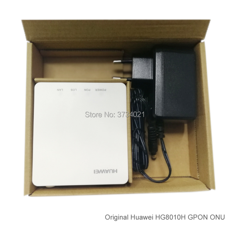 Image 5 - 20Pcs Huawei GPON ONT HG8010H 1GE port SC APC Huawei Echolife HG8010H GPON Terminal ONT Optical FTTH Router-in Fiber Optic Equipments from Cellphones & Telecommunications