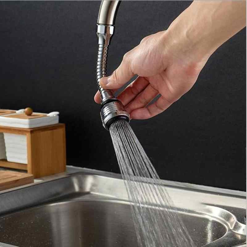 360 מסתובב מטבח ברז זרבובית מתאם אמבטיה ברז אביזרי מרססי ברז מים-חיסכון מכשיר אספקה הביתה נירוסטה