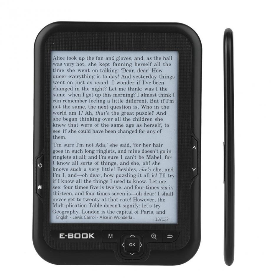 Haute qualité e-ink 6 pouces 600*800 Blacke encre displayebook lecteur libro electronics ebook le livre électronique