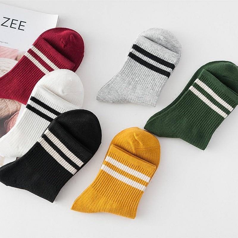 Harajuku Funny Socks Women Different Colors Female Cute Sock Women Designed School Students Korean Style DropShipping ZM-06