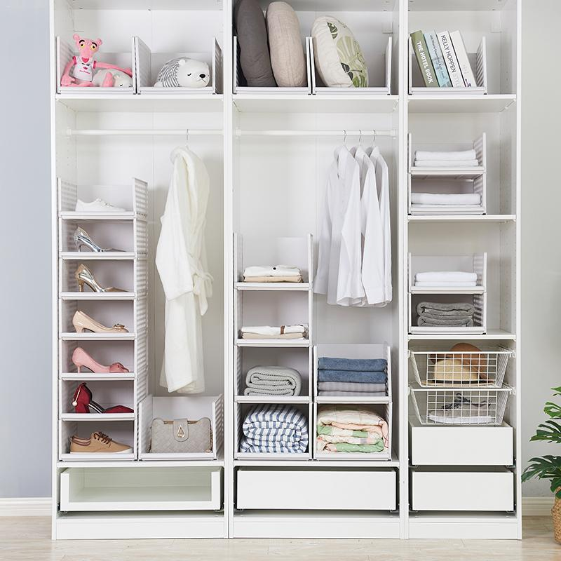 Cube Storage Box Clothes Organizer 3 Cubes Storage Shelves For Kitchen Office Living Room Bathroom DIY Plastic Closet Cabinet