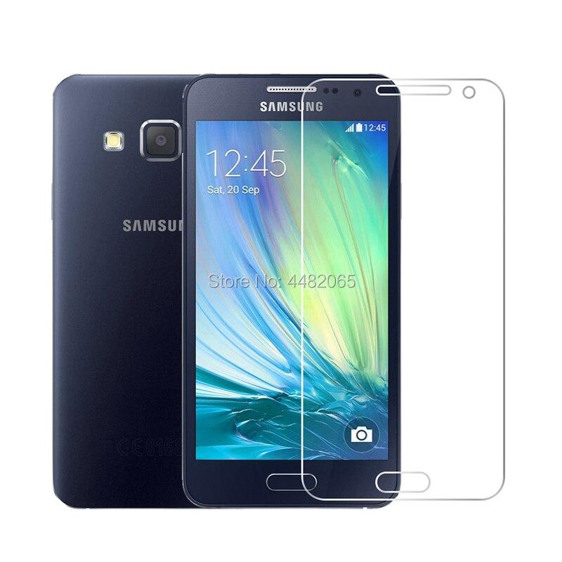 2.5D 0,26 мм 9H защитное закаленное стекло для Samsung GALAXY A3 2015 A3000 A300 SM-A300F защитная пленка