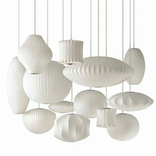 Japan Silk Tatami Led Chandelier Staircase Danish Dining Hall Bar Clothing Shop Pendant Lamp Lantern Lampshade Restaurant Lustre
