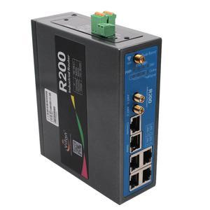 Поддержка балансировки нагрузки 2,4 ГГц 5 ГГц двухдиапазонный WIFI гигабит Ethernet 4G маршрутизатор R200 Промышленные Две сим-карты двойной модуль LTE...
