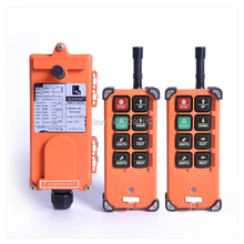 Universal Wholesales Telecrane F21 E1B Industrial Crane Wireless Radio RF Control 2 Transmitter 1 Receiver for Truck Hoist Crane