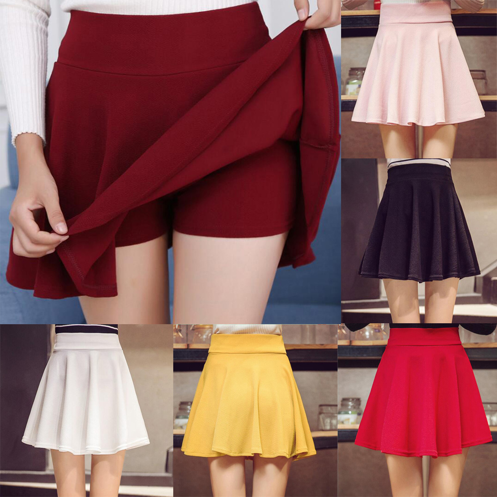 57a268a12b0fc ♔ >> Fast delivery plus size pleated mini skirt in Bike Pro