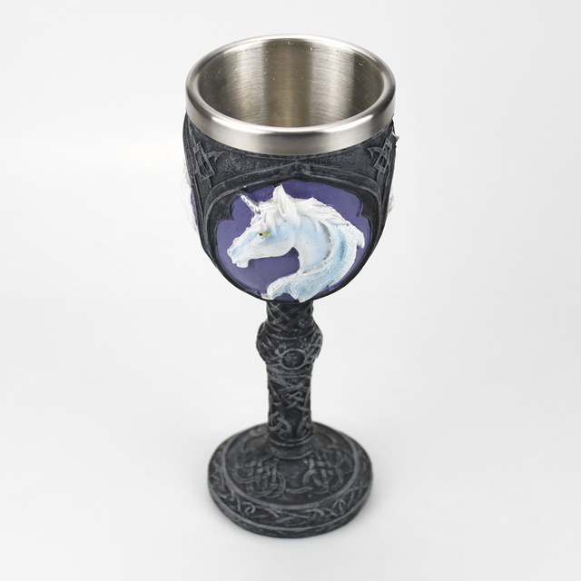 Gothic Goblet, Wine Glass Halloween Gifts Bar Cookware