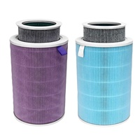 HEPA Filter Cleaner Air Purifier 2 Colors Smart Removal Air Purification Removing Formaldehyde Accessories Home Appliance Parts
