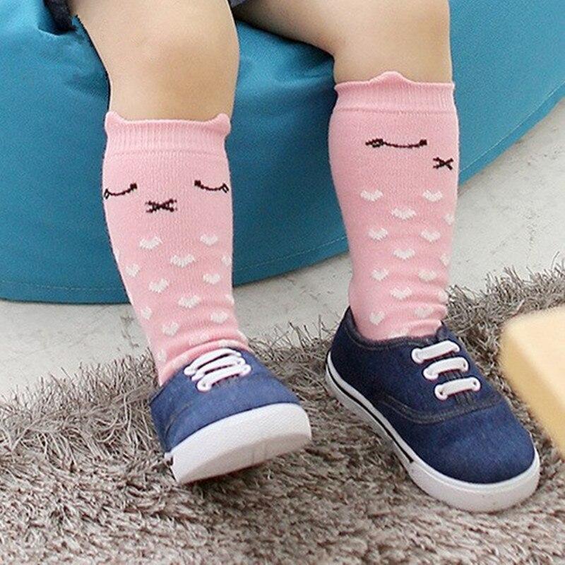 Baby Socks Girl Boy Animal School Cotton Anti-slip Knee High Kids Socks 0-4YBaby Socks Girl Boy Animal School Cotton Anti-slip Knee High Kids Socks 0-4Y