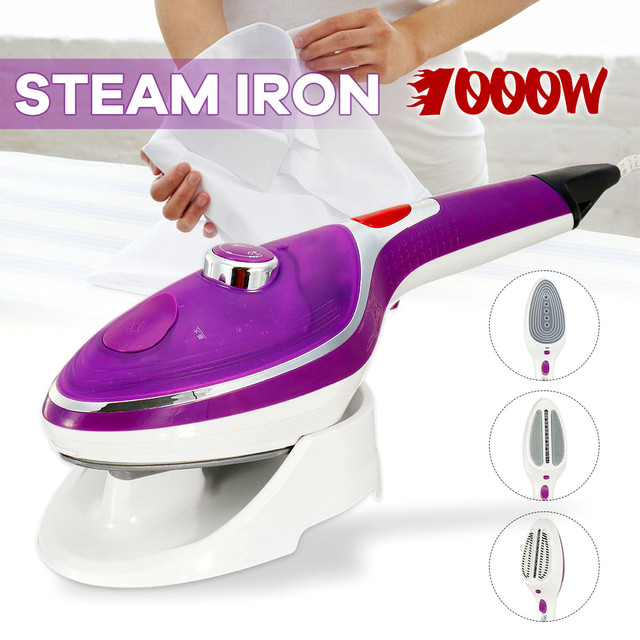 Newest 1000W Handheld Garment Steamer Appliances Vertical Steamer with Steam Irons Brushes Iron for Home Ironing Clothes 220V
