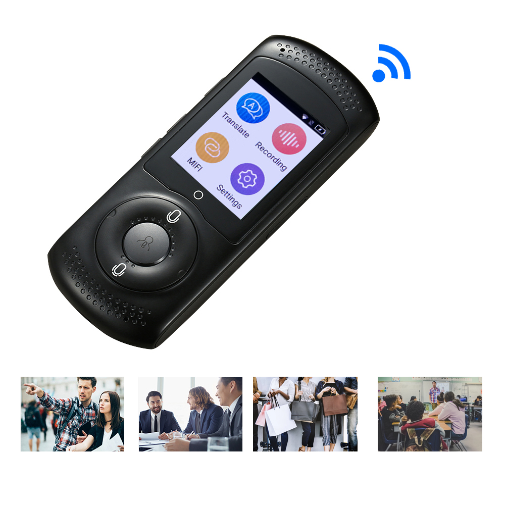 Smart Voice Language Translator 2 0 TouchScreen Real Time Instant Portable Translator 45 Languages Two Way