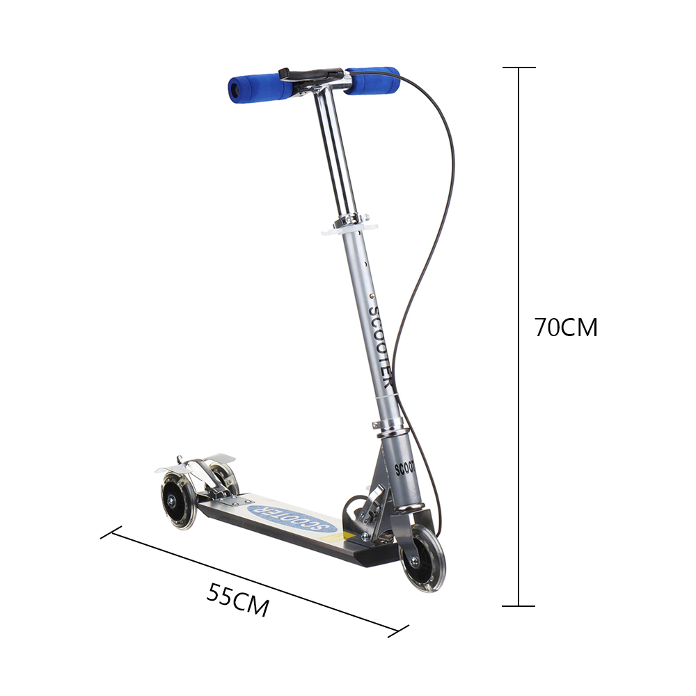 Height Adjustable Kick Scooter for Kids with 3 Wheels 4
