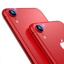 1ab57874b Para iPhone X XS MAX 8 7 Plus 6 6 S PLUS lente trasera de cristal templado  pantalla protectora de la Lente de la cámara .